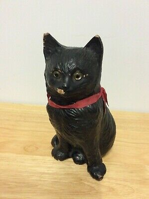 ANTIQUE BRETBY GLASS EYED CAT No. 1349 • 14.99£