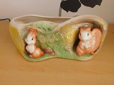 Sweet Eastgate  Withernsea Pottery -fauna  Bulb / Posy Trough • 2.99£
