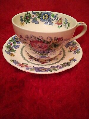 Masons Strathmore Large Cup And Saucer  • 10£