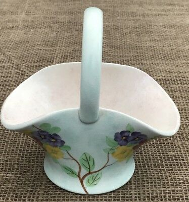 Superb Radford Art Deco 1930's Porcelain Basket Hand Painted 796 • 17.95£