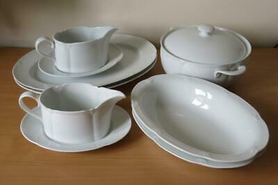 MARKS & SPENCER St.Michael STAMFORD TABLE SERVING WARE Tureen, Gravy Boat, Dish • 16.50£