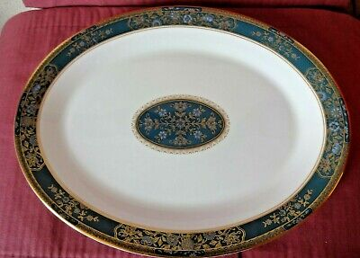 ROYAL DOULTON CARLYLE OVAL SERVING PLATE 1st QUALITY H5018 • 21£