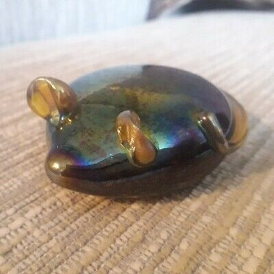 John Ditchfield Glasform Glass Mouse Signed And Has The Glasform Label  • 65£