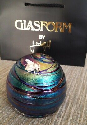 John Ditchfield Glasform Glass Bee-hive Signed And Has The Glasform Label  • 190£