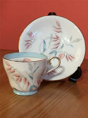 Aynsley Wilton Fine Bone China Coffee Cups And Saucers Pattern No 1418/1 • 6.99£