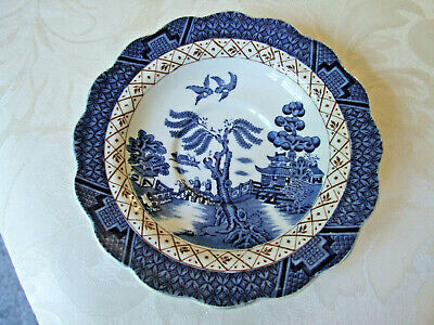 Booths Real Old Willow A8025 Saucer • 1.99£