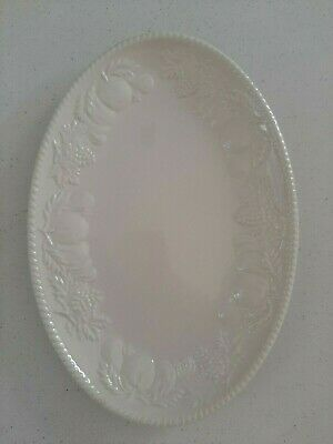 BHS~ Lincoln~ Cream China~  Gravy Boat Stand / Dish/ Plate~ Excellent Condition • 10£