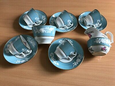 Spode Old Colony Rose 12 Pce Coffee Set (5 Settings) • 49£