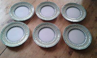 Villeroy & Boch French Garden Orange  Tea Or Side Plates 6 X 6.5  • 20£