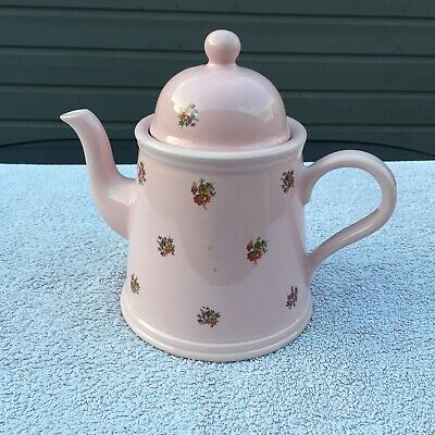 Pretty Teapot By Arthur Wood - Pink With Small Floral Design Used Vgc. • 4.99£