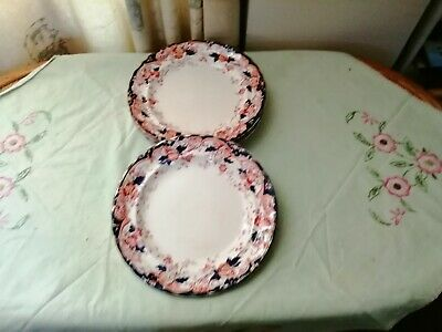 5 Antique K&C'B LATE MAYERS CHATSWORTH STYLE DINNER PLATES • 40£