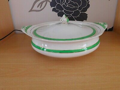 Lovely Solian Ware Soho Pottery Queens Green Tureen • 6.99£