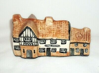 Tey Pottery Ceramic House, Lord Nelson Reedham, Britain In Miniature • 3.50£