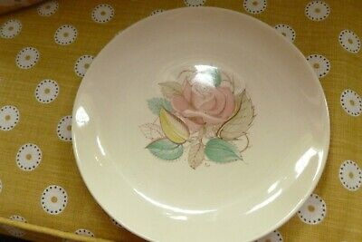 Vintage Susie Cooper Pink Patricia Rose Pottery Cake Plate Signature Stamp  • 9.99£