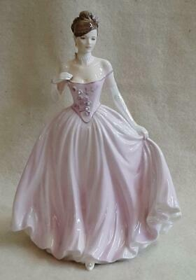 Coalport Limited Edition Figurine The Rose Ball Beads Missing • 49.99£