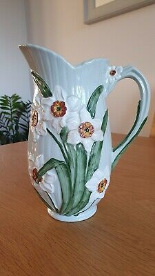 Hand Painted Floral Daffodil Vase • 0.99£