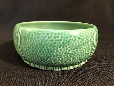 Vintage Falcon Ware Sylvac Green Fruit Or Salad Bowl • 5.99£
