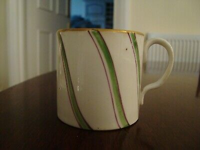 18th Century Porcelain Coffee Cup Possibly Worcester  21/167 • 55£
