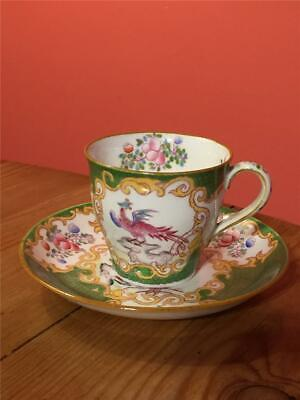 Antique Mintons Cockatrice Phoenix Coffee Cup And Saucer • 9.99£