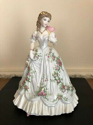 Royal Worcester Figurine - Queen Of Hearts - Romance Of The Victorian Era  • 34.99£