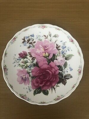 Royal Albert English Bone China Plate - The Rose Garden Collection - Pink Peace • 3£