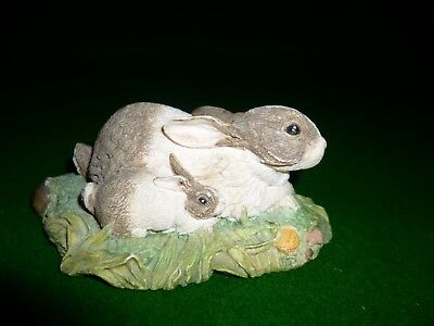 Beswick Mother And Baby Rabbit Collectors Item • 9£