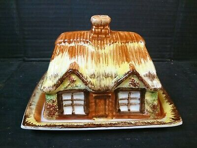 Vintage Price Kensington Cottage Ware 1940s Cheese / Butter Dish - VGC • 8£