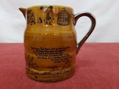 Uncle Tom Cobley Lord Nelson Pottery 4  Milk Jug Creat Condition • 2£