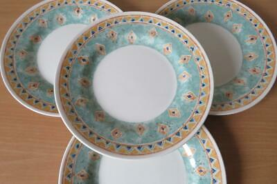 CHURCHILL Ports Of Call KABUL 4 X 17cm TEA/SIDE PLATES EXCELLENT UNUSED COND • 17.95£