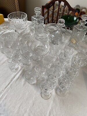 Collection Of Various Crystal Glassware.  • 20£