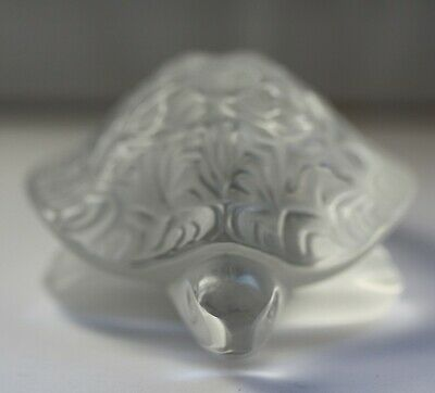 Lalique Sidonie Turtle. Perfect Condition. • 100£