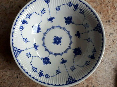 Masons Blue Denmark Bowls And Sideplates- Used But Great Condition • 16£