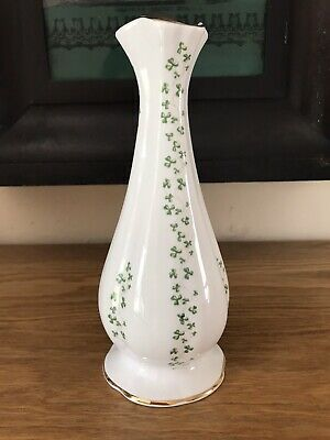 Royal Tara Fine Bone China Shamrock Vase Made In Galway Ireland Irish • 8.99£