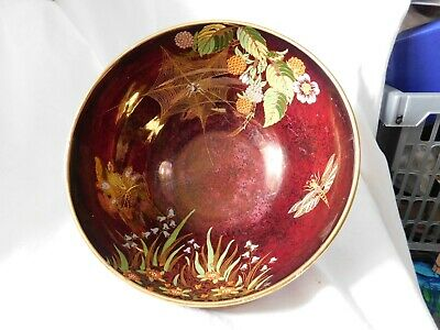 Carlton Ware Rouge Royale Spiders Web Bowl • 20£