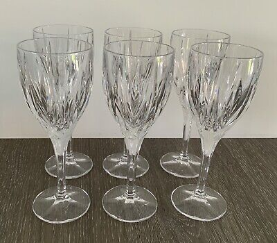 Redhouse By Stuart Crystal, 6 Large Wine Glasses, Excellent Condition • 17.66£