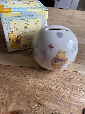 Brand New Royal Doulton Winnie The Pooh Money Ball Boxed  • 2.99£