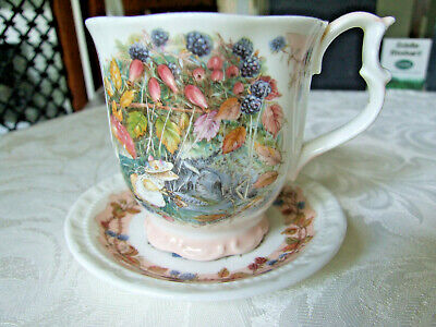 Royal Doulton Brambly Hedge 'Autum' Beaker & Coaster (full Size) • 15.99£