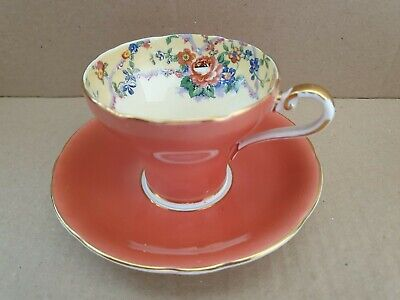 Aynsley Cabinet Tea Cup & Saucer In Very Good Condition   • 12.99£