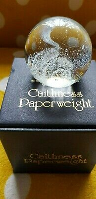 Paperweight Caithness Art Glass, Looks Like The Solar System , From 1986 Nice • 2.50£