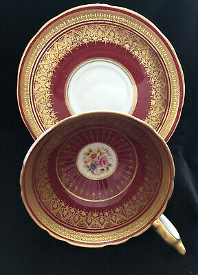 Vintage Aynsley Cup And Saucer S Bentley Signed • 15£