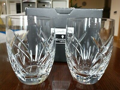 Waterford John Rocha Signature Tumblers Pair Perfect Condition • 26.01£