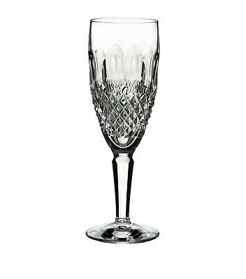 Waterford Crystal Colleen Tall Stem Champagne Flute ~ 7 3/8  ~ 2 Available • 39.99£