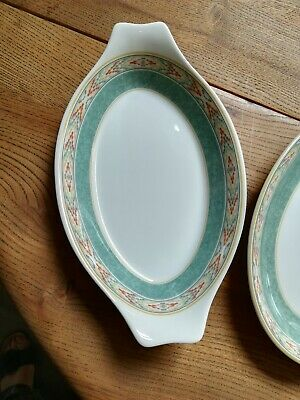 Wedgwood Home Aztec Gratin Dishes X 2 Plus 1 X Oval Serving Dish.  • 20£