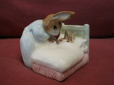 Beswick Beatrix Potter Figurine Entitled Peter In Bed 3473 • 1.69£
