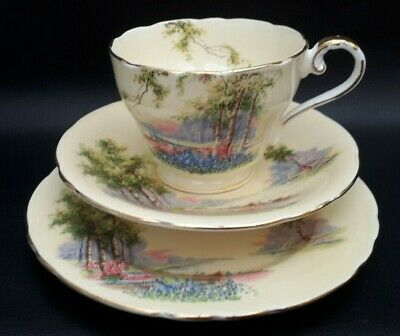 Vintage Aynsley China Trio Tea Cup Saucer Plate Very Old Gilded  • 14.99£