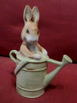 Beswick Beatrix Potter Figurine Entitled Mr Peter In The Watering Can • 5.50£