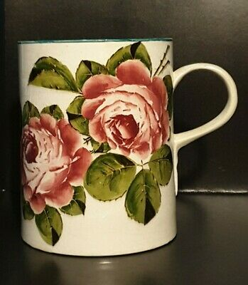 Wemyss Ware Large Tankard With Cabbage Rose Decoration  C1900 Impressed Stamp • 149.99£