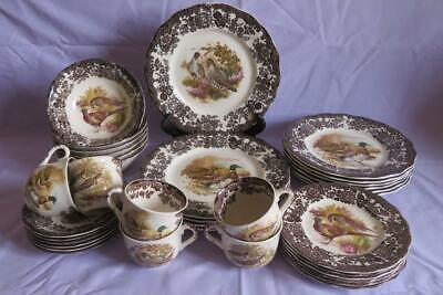ROYAL WORCESTER (PALISSY) GAME SERIES TABLEWARE Plates, Cups & Saucers, Bowls • 20£