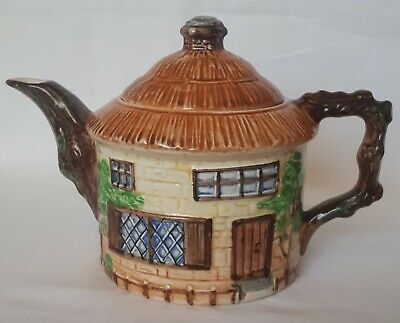 Vintage Beswick Ware Cottage Teapot Model No.239 Made In England • 20£