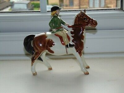 Beswick  Girl On Pony  Model 1499  Perfect Condition • 100£